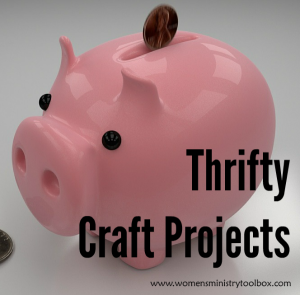 Thrifty Craft Projects
