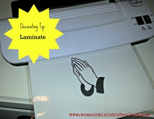 8 Ways to Use a Laminating Machine in Your Ministry