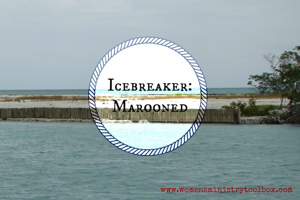 Marooned Icebreaker includes detailed instructions