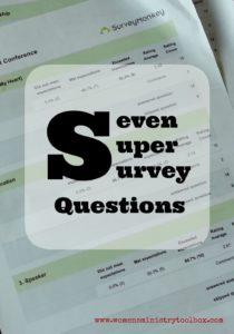 Seven Super Survey Questions