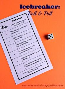 Icebreaker: Roll & Poll (Free Printable)