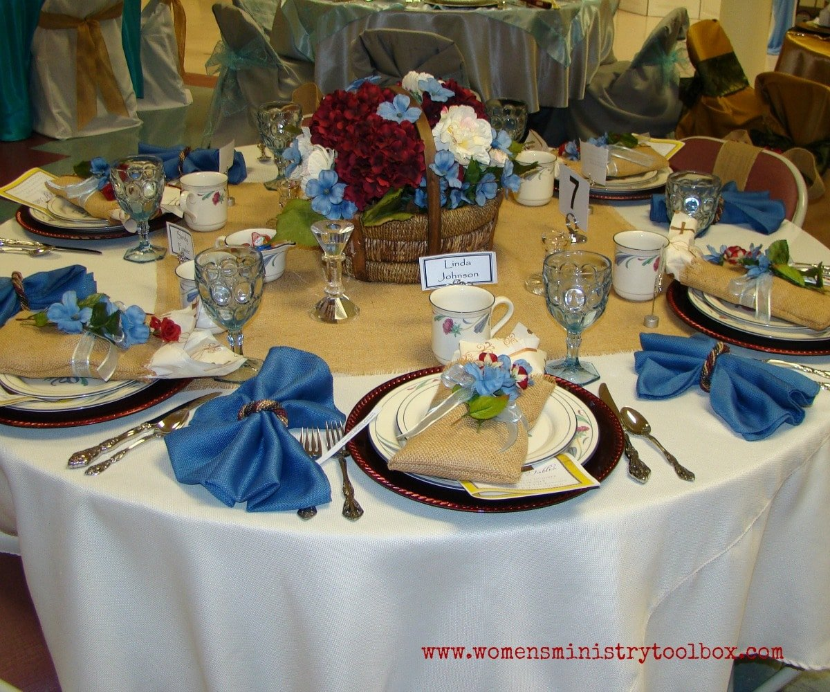 Table Decor Ideas Part 1 Womens Ministry Toolbox