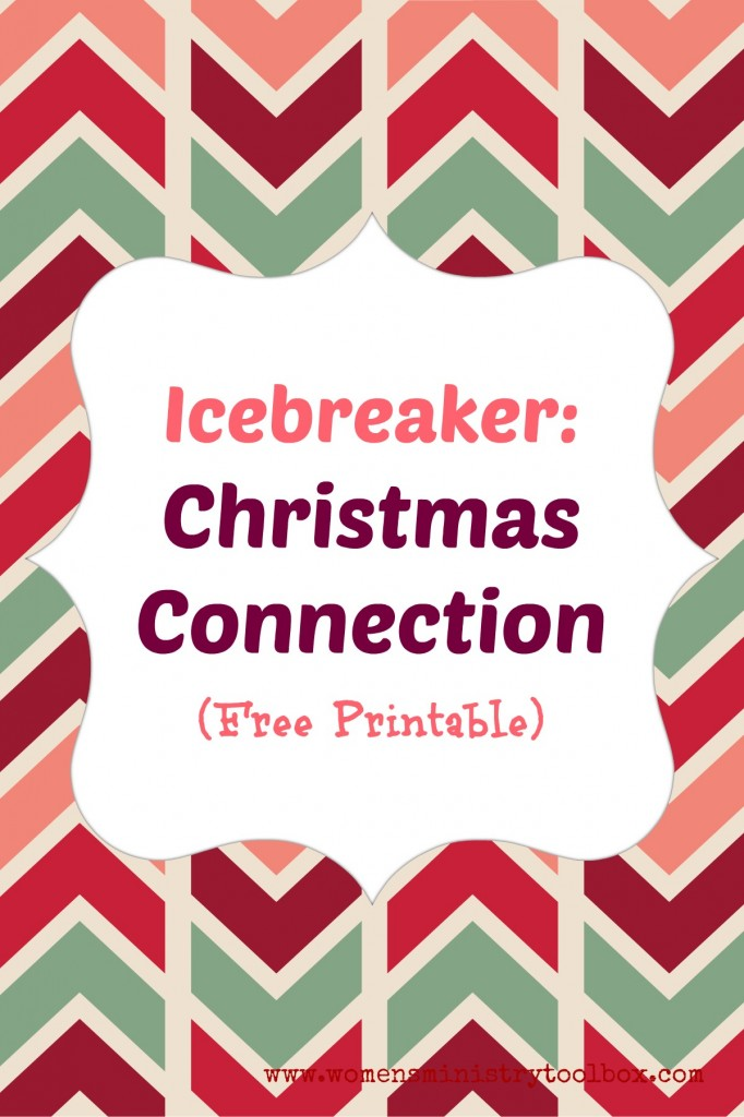 Icebreaker Game: Christmas Connection with Free Printable