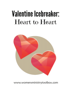 Valentine Icebreaker: Heart to Heart (Free Printable)