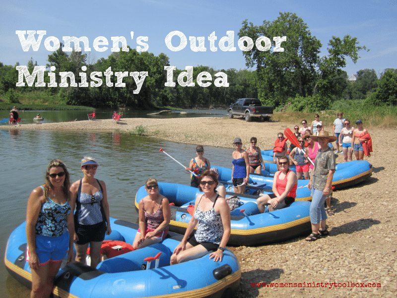 Women's Outdoor Ministry Idea
