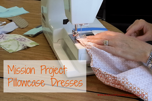 Mission Project: Pillowcase Dresses