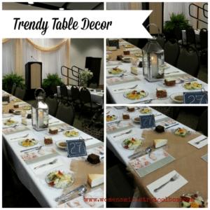 Trendy Table Decor
