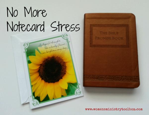 No More Notecard Stress