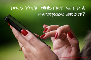Does your ministry need a Facebook Group?
