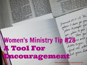 Tip 28 – A Tool for Encouragement