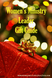 Women's Ministry Leader Gift Guide