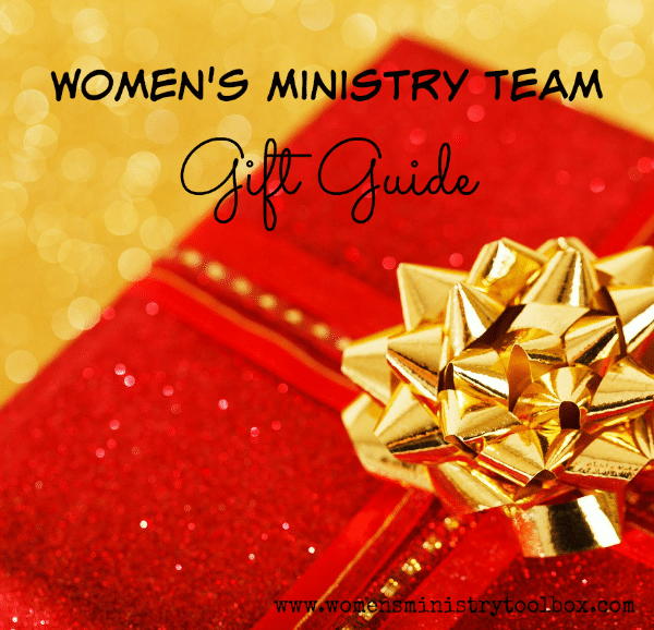 Women's Ministry Team Gift Guide