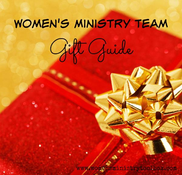 Women's Ministry Team Gift Guide