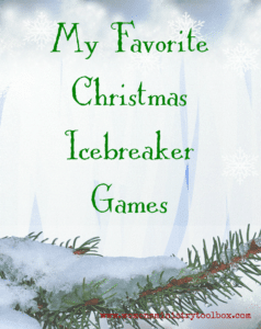 My Favorite Christmas Icebreaker Games