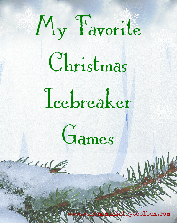 My Favorite Christmas Icebreaker Games from Women's Ministry Toolbox
