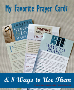 My Favorite Prayer Cards and 8 Ways to Use Them