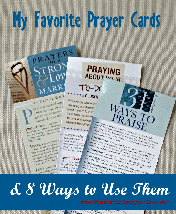 My Favorite Prayer Cards & 8 Ways to Use Them