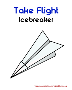 Take Flight Icebreaker