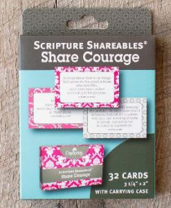 share courage scripture shareables