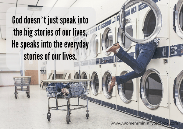 God speaks into the everyday stories of our lives