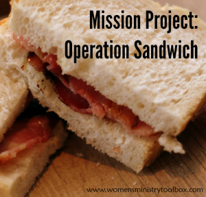 Mission Project: Operation Sandwich