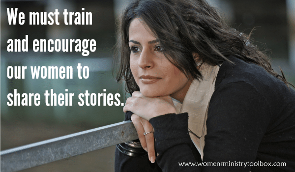 We must train and encourage our women to share their stories