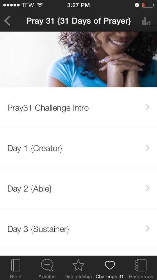 pray31 screenshot