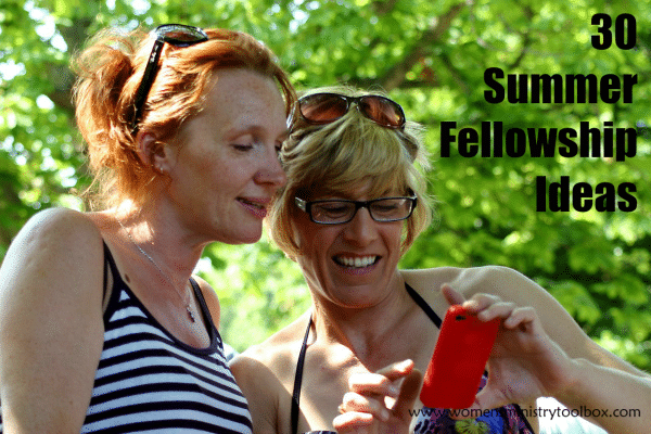 30 Summer Fellowship Ideas