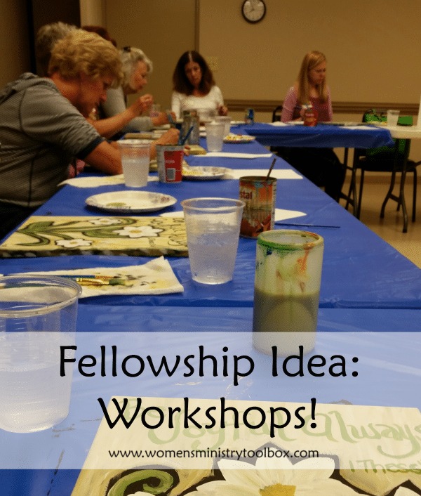 Fellowship Idea Workshops