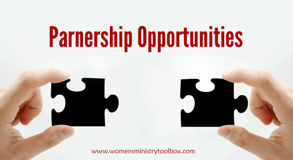 Women's Ministry Toolbox Partnerships and Sponsored Post Opportunities