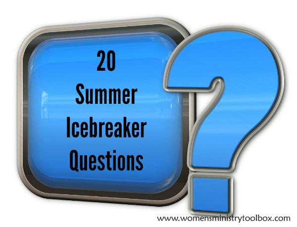 20 Summer Icebreaker Questions
