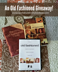 An Old Fashioned Giveaway!