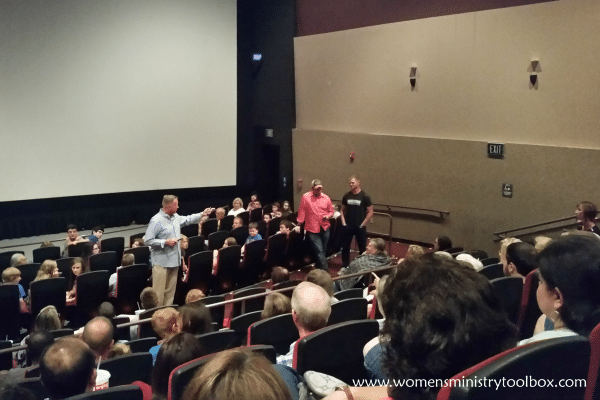 Q & A session after viewing the War Room movie