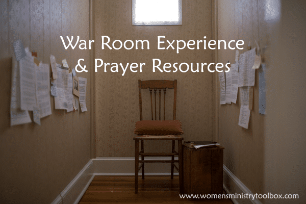 War Room Experience & Prayer Resources