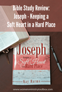 Bible Study Review: Joseph – Keeping a Soft Heart in a Hard Place
