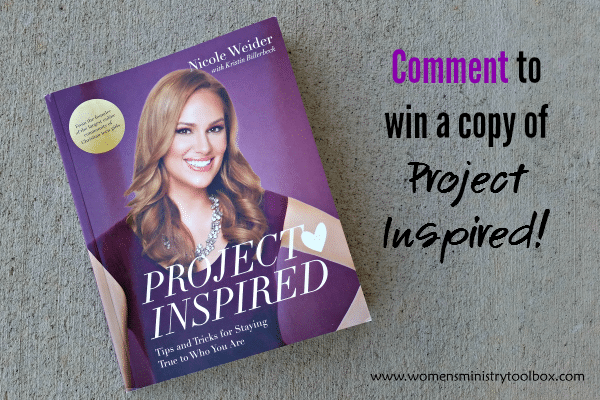 Comment to win a copy of Project Inspired