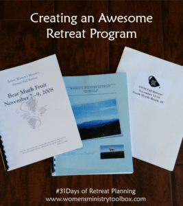 Day 16 – Creating an Awesome Retreat Program