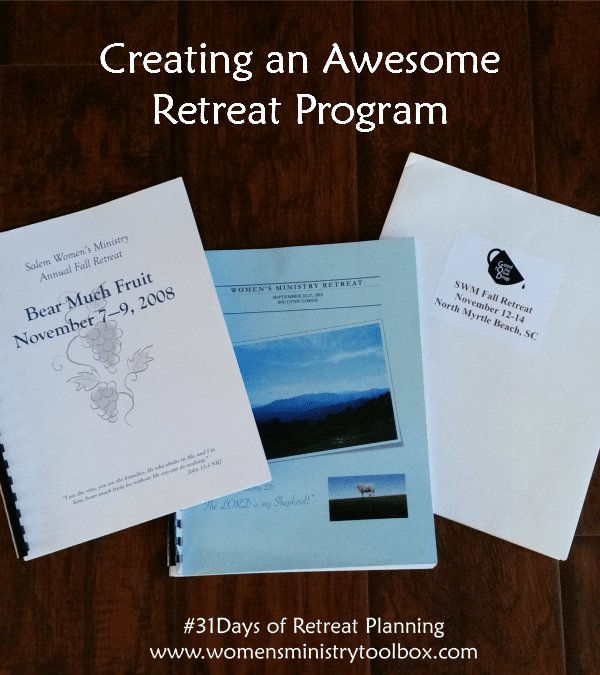 Creating an Awesome Retreat Program