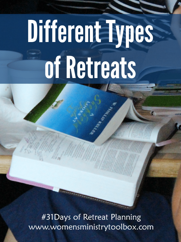 Different Types of Retreats