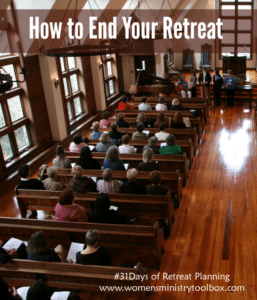 Day 22 – How to End Your Retreat