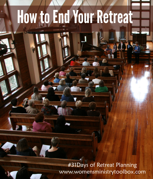 How to End Your Retreat
