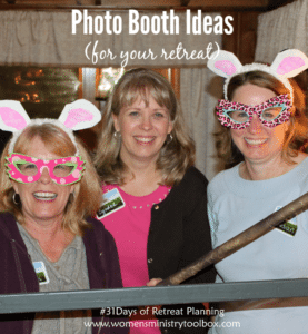 Day 29 – Photo Booth Ideas for Your Retreat