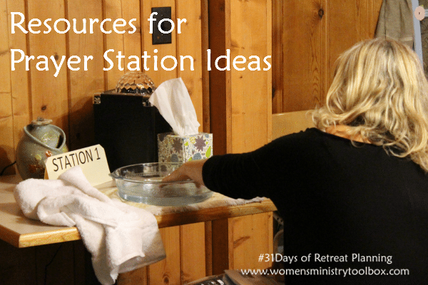 prayer station ideas for adults