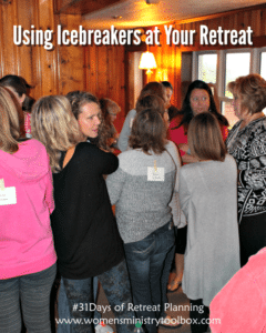 Day 19 – Using Icebreakers at Your Retreat