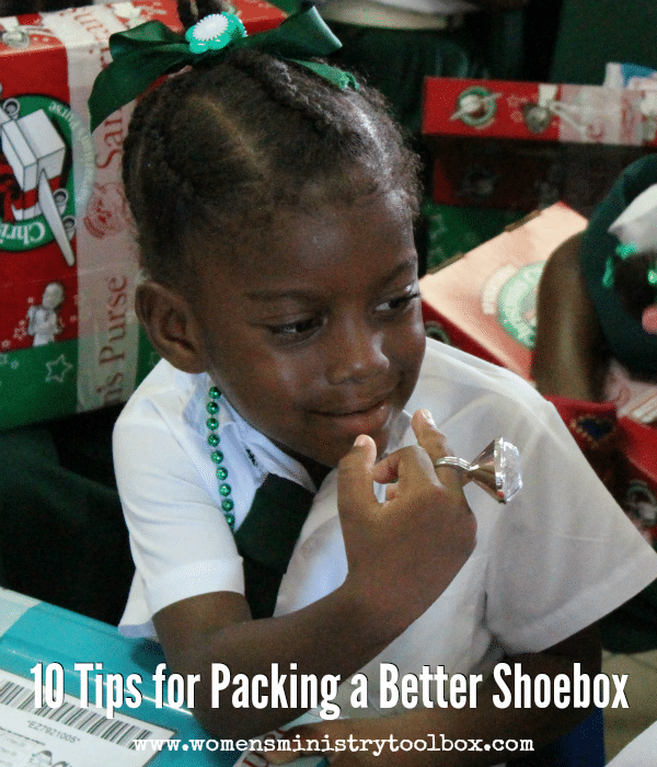 10 Tips for Packing a Better Shoebox