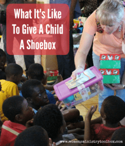 What It's Like to Give a Child a Shoebox