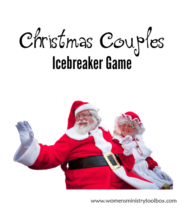 Christmas Couples Icebreaker Game