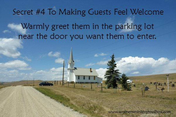 Secret 4 To Making Guests Feel Welcome