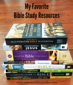 My Favorite Bible Study Resources
