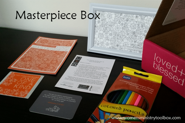 Masterpiece Box from Loved + Blessed